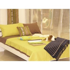Lemon Green Flat Sheet