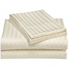Постелъчен комплект Satin Stripe Ivory